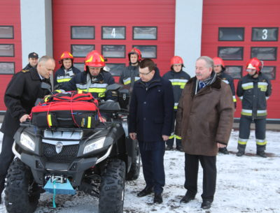 Pomoc dla Komendy Powiatowej Państwowej Straży Pożarnej