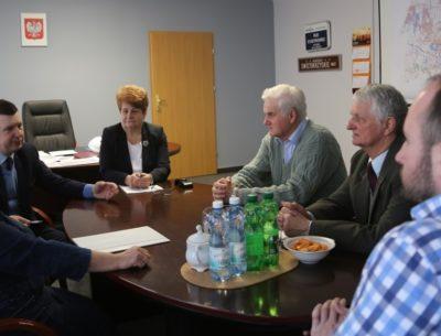 Spotkanie z przedstawicielami ROD