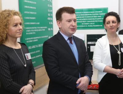 Otwarcie nowej siedziby Kasy Rolniczego Ubezpieczenia Społecznego w Ostrowcu Świętokrzyskim