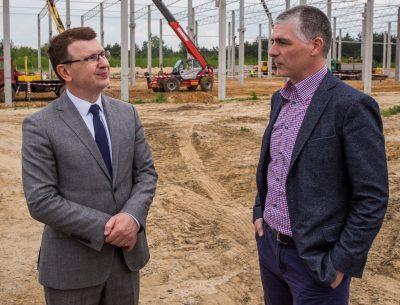 Zakład produkcyjny Elkom Trade już powstaje