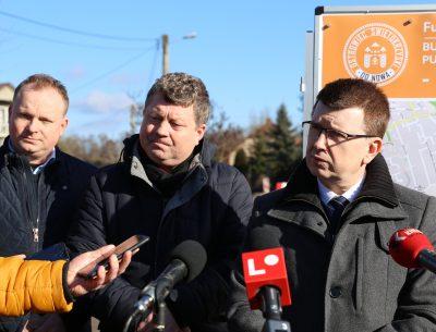 Trwa budowa ulicy Ogrodowej i sześciu innych ulic na terenie Ostrowca Świętokrzyskiego