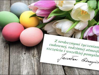 Życzenia na Wielkanoc 2020r.