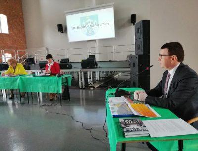 Prezydent Jarosław Górczyński składa raport o stanie miasta. Jest się czym pochwalić