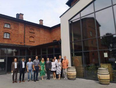Komisja oceniająca w konkursie Modernizacja Roku odwiedziła Ostrowiecki Browar Kultury
