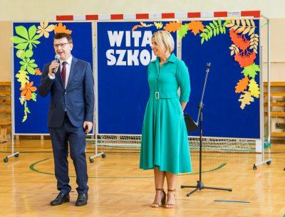 Uroczyste rozpoczęcie roku szkolnego w gminnych szkołach