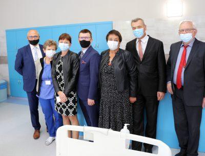 Nowa jakość na Wewnętrznym I. Gmina Ostrowiec Świętokrzyski dofinansowała remont kolejnego oddziału w szpitalu powiatowym