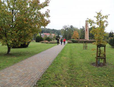 Park Miejski w jesiennym wydaniu