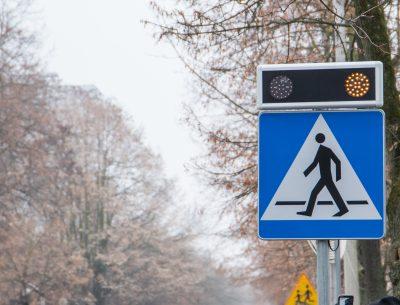 Na Sienkiewicza powstało bezpieczne przejście dla pieszych