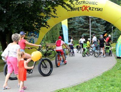 Ostrowiec to miasto rowerów. Piknik rowerowy w Parku Miejskim