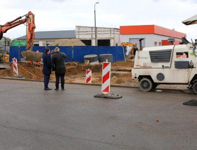 Nowe inwestycje w rejonie ulicy J. Samsonowicza